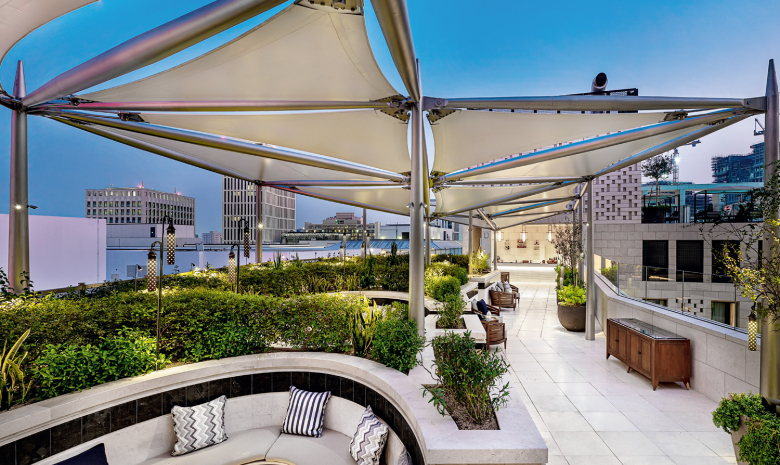 Outdoor bars to check out in Doha