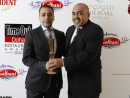 Nadi Fanous and Chef Sonali L'Wzaar - Winner for Best Seafood