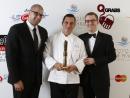 Nassim Basma, Rodrigo Martinez and Stephen Gee Market by Jean-Georges - Winner for Best Business Lunch