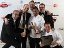 Martin Foltin and Darsin JosephSpice Market - Restaurant of the year Winner