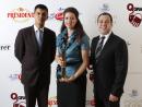 Yucel Eltutan, Suranga Sampath and Amena Tena Al Jalsa, Sharq Village & Spa - Winner for Best Café