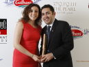Sara Chakri and Miguel Nelo Latino - Winner for Best Latin American