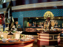 The LagoonA festive international buffet is on offer from 7.30pm-1am for QR450 per person with soft drinks and QR750 with a whole host of drinks. Kid aged four-12 can dine for QR190 and children under four dine free. There's a live DJ for entertainment too. Ritz-Carlton, West Bay Lagoon (4484 8512).
