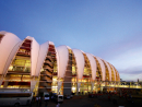 Estadio Beira-RioCapacity: 48,849City: Porto AlegreMatches: France vs. Honduras (June 15), Australia vs. Netherlands (June 18), Korea Republic vs. Algeria (June 22), Nigeria vs. Argentina (June 25), round of 16 (June 30)In picturesque surroundings on reclaimed land on the banks of the River Guaiba, the Estadio Beira-Rio is home to Internacional. Over the years, the stadium has hosted hotly-contested derbies between Internacional and their Porto Alegre rival Gremio. As the largest football ground in the south of Brazil, the Estadio Beira-Rio is nicknamed the 'Gigante do Beira-Rio', meaning the Giant of Beira-Rio. Having opened in 1969, the stadium has been renovated for the FIFA World Cup, and now features an innovative metal roof that covers the stands, ramps and turnstiles.