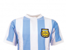 Argentina 1986A classic kit from a classic World Cup. Mexico '86 remains forever in the affections of football fans – unless you're English, then Diego Maradona's handball in their 2-1 quarter-final defeat still smarts today.www.toffs.com