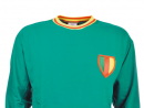 Cameroon 1960sTalk about Cameroon's football side usually centres around Roger Milla, the country's star striker in the 1990 finals. But dig deeper into their heritage and you'll find this beauty of a kit. Fact: Cameroon's first international match was in 1960. They beat Djibouti 9–2.www.toffs.com