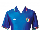 Italy 1986The Italians got knocked out of the 1986 World Cup by France 2-0 in the second round. But they did it in style with this seminal, simplistic kit.www.vintagefootballshirts.com
