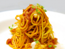 Italian JobOpen daily 6pm-11pm, Radisson Blu Hotel, Salwa Road (4428 1428). Il primo piatto: Spaghetti alla chitarra con aragosta in crema d'aglioIngredients: Lobster, cherry tomatoes, onion, garlic, parsley.A very easy weeknight meal, the onion and garlic add a real depth of flavour to the dish and complement the seasoned lobster to create a very simple, but very flavoursome, meal. The cooking cream adds an essential element to the meal, but does not detract from the natural and simple flavours emanating from it. Price of the dish: QR80
