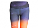 Graphic leggingsTake these Los Angeles inspired graphic leggings to your yoga class. QR320, www.thehotboxkit.com.