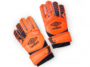 Goalkeeper glovesLook the part in goal with these neon Umbro gloves. QR90, www.sivvi.com.