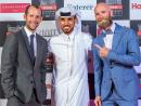 Grant Angus, Ghanim al Sulaiti and Matt Downes