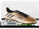 SIGNED MEMORABILIA, QR2,570If you're a big Lionel Messi fan, here's a gold Adidas boot in an acrylic case signed by the man himself. You're welcome. www.eu.store.fifa.com.