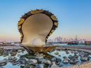 Pearl sculpture, Corniche
