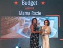 BEST BUDGET WINNER - Mama RozieAl Muntazah (7045 6262).