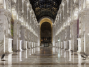 Al Hazm MallThis gloriously beautiful mall is reminiscent of Italy's Galleria Vittorio Emanuele II – one of the world's oldest shopping centres in the country, housed in a 19th century double arcade in Milan.
