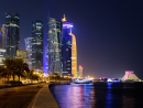 Doha CornicheBecause you can take pictures like these from almost anywhere on this long strip of waterfront beauty.