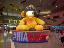 Hamad International AirportIt's unbelievable how many incredible pieces of art are housed inside Hamad International Airport. From COSMOS by Jean-Michel Othoniel and Small Lie by KAWS to Oryx by Tom Claasen and, of course, the legendary Lamp Bear by Urs Fischer, the airport might be even better than an actual art exhibit.