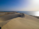 Inland SeaThe massive inlet of water amid the desert that greets you after almost an hour of adrenaline-pumping dune bashing is an out-of-this-world experience. For you, and your camera.