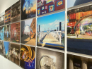 Pass by a cool 3D exhibitionIt's inspired by New York City and created by Qatari artist Mohammed Faraj Al-Suwaidi.