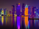 Six incredible images of Doha at night