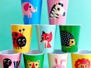 QR21 per cupMelamine cups.www.en.smallable.com