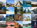 Travel plans may have been put on hold for the time being but that doesn't mean we can't dream about our next getaway, right? If you're looking for some serious holiday inspiration, we've rounded up 25 stunning photos from around the world.Now all you need to do is get a map of the world and stick pins in the places you want to go.