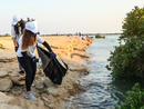 You can now volunteer to clean-up Al Thakhira Mangroves by kayak