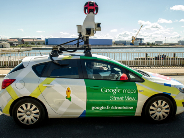 Google Street View in Doha