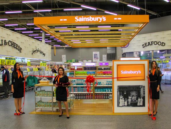 British supermarket Sainsbury's is now open in Qatar