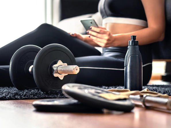 Seven top tips for keeping motivated in home workouts