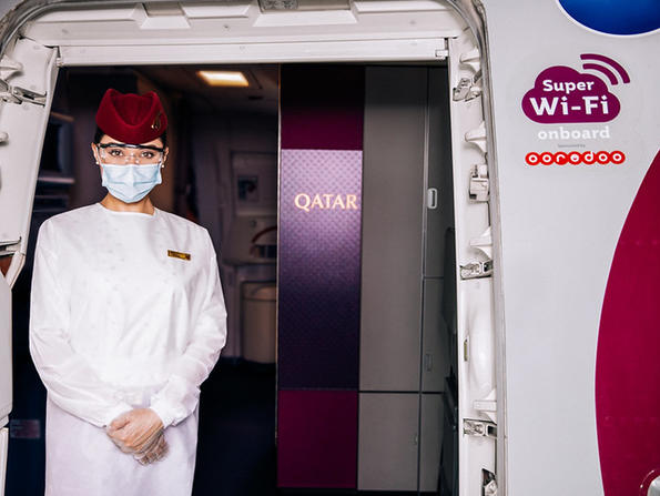 Qatar Airways giving customers free on-board wifi for next 100 days
