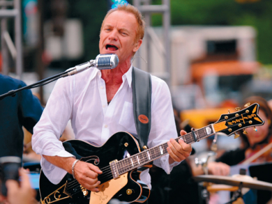 Sting music review