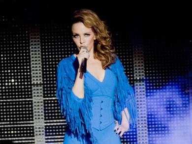 Kylie Minogue at F1 Abu Dhabi pics