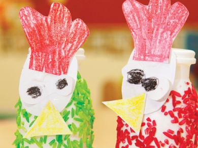 Crafty activities for kids