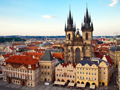 Prague area guide