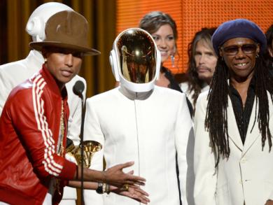 Daft Punk, Lorde and Macklemore & Ryan Lewis win big at Grammy Awards