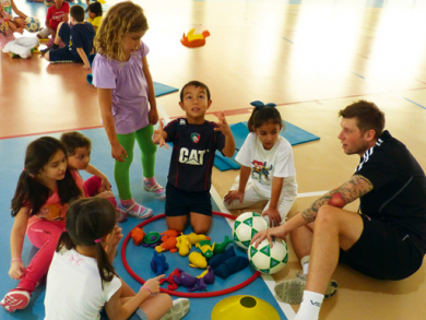 Fitness for kids in Doha