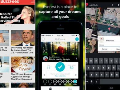 Three hot apps to try