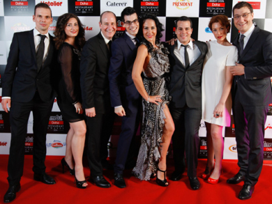 Doha Restaurant Awards: Red carpet