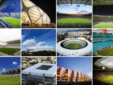 Brazil World Cup stadiums