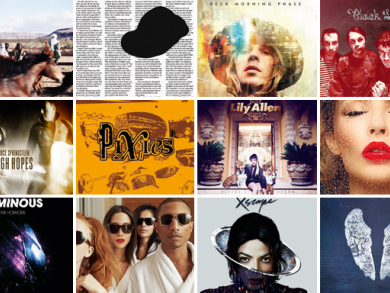 2014's biggest and best albums