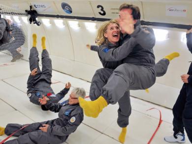 Zero gravity trips