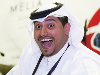 Hamad Al-Amari comedy interview