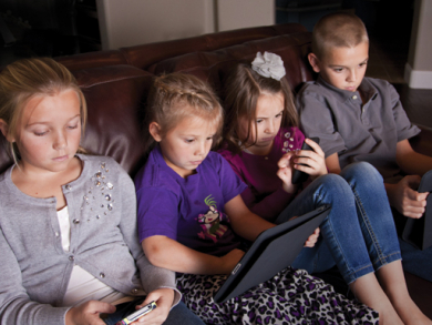 Monitor your child's screen time