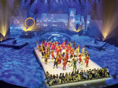 Peter Pan show in Doha