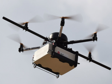 Qatar postal service introduce drone delivery