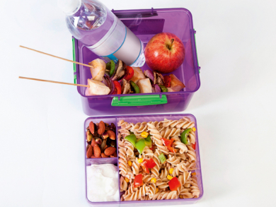 Packed lunch tips for kids