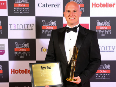 Time Out Doha Restaurant awards winners