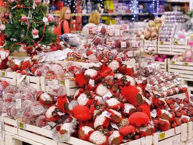 Budget festive décor