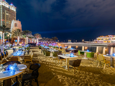 Beach bar and barbecue Barefoot Thursday comes back to Doha
